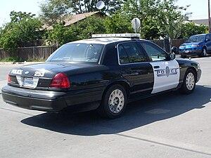Arvin, California - Arvin Police hybrid Cruiser
