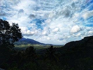 Aryankavu Village in Kerala, India