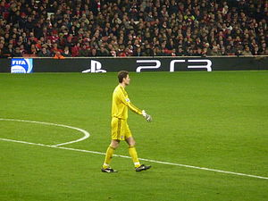 Asmir Begović - Begović playing for Stoke City in 2011