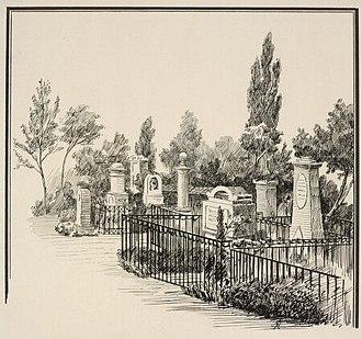 Vestre Cemetery (Copenhagen) - Assistens Cemetery in 1897