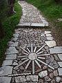 Athens, Philopappos Hill, path.JPG