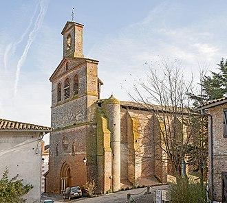 Aucamville, Tarn-et-Garonne - Image: Aucamville (Tarn et Garonne) Eglise