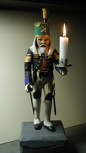 Miner's figure - An Ore Mountain miner's figure as a candle holder