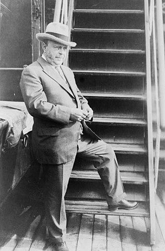 August Anheuser Busch Sr. - August A. Busch in 1925
