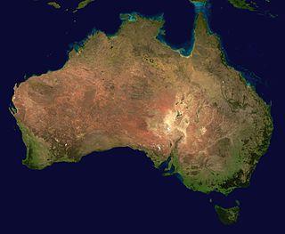 Австралия континент