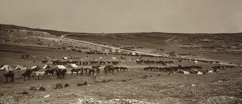 Dosya:Australian camps on slopes of Olivet & Mount Scopus3.jpg