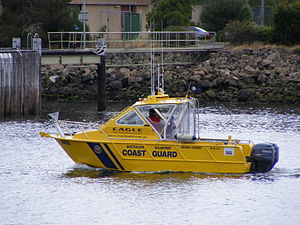 Coast guards in Australia - Australian Volunteer Coastguard vessel
