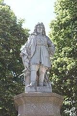 statue of Vauban in Avallon