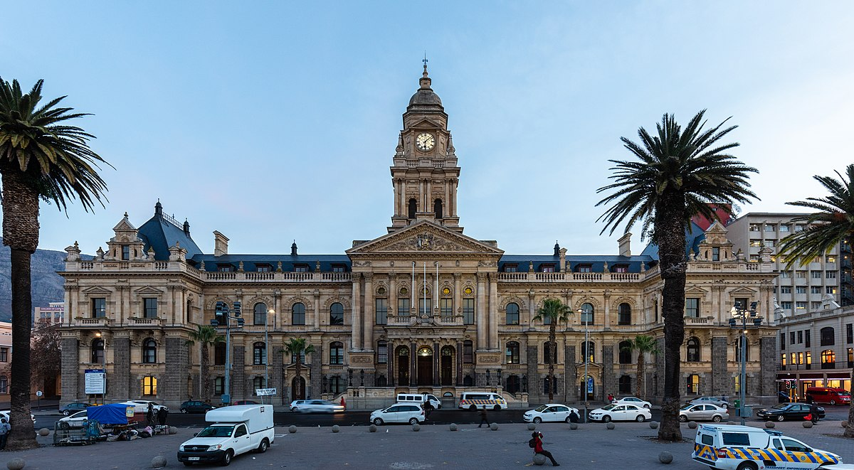 City Of Cape Town: Cape Town City Hall