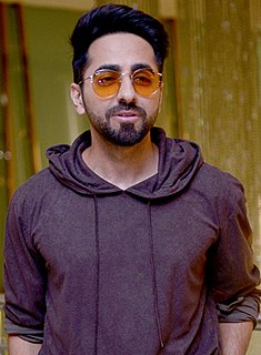 Ayushmann Khurrana Indian actor, singer and television host