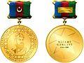 Azərbaycan Respublikasının Nizami Gəncəvi adına Qızıl medalı - hər iki tərəf.jpg
