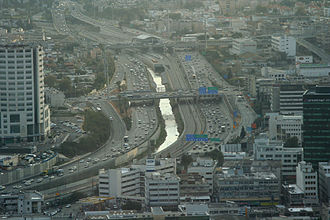 Highway 20 (Israel) - La Guardia Interchange
