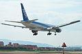 B777-381(JA755A) approach @ITM RJOO (535808213).jpg