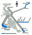 BART proposed extensions map, 1980.jpg