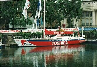Global Challenge - Toshiba in St Katharine Docks