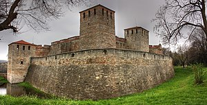 Shishman of Vidin - The medieval Baba Vida castle in Vidin, the capital of Shishman's semi-independent realm