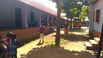 Namboodiri Vidyalayam - Image: Backyard of Namboodiri Vidyalayam