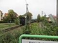 Bahnhof Moritzburg, 99 1761-8 mit Zug (9) Ausfahrt.jpg