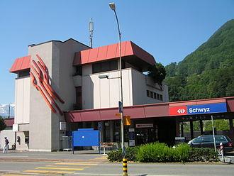 Schwyz - Schwyz railway station