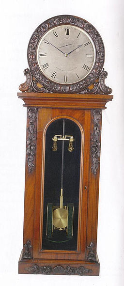 Bain First electric clock