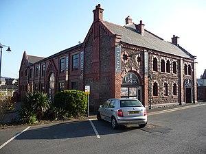 Baker Street drill hall, Abergavenny - Baker Street drill hall
