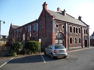 Baker Street drill hall, Abergavenny cinema and former drill hall in Abergavenny, Wales