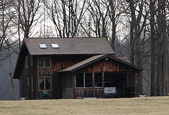 Balhinch, Indiana - Image: Balhinch residence