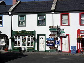 Ballyvaughan Village in Munster, Ireland