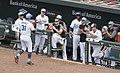 Baltimore Orioles dugout (35355780946).jpg