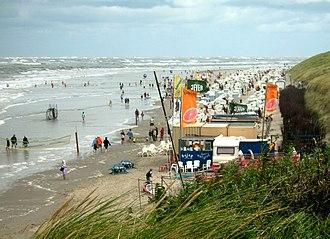 Baltrum - Beach of Baltrum