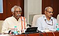 Bandaru Dattatreya addressing at the signing ceremony of a Memorandum of Understanding (MoU) between Director General (DG) Employees' State Insurance Corporation (ESIC) & DG Directorate General Factory Advice Service.jpg
