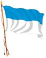 Bandera de la Ciudad de Rumiñahui flamenado.png