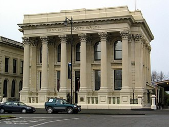 Bank of New South Wales - Image: Bank of New South Wales Oamaru 2