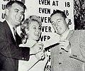 Barbara Eden and Dow Finsterwald 1960.jpg