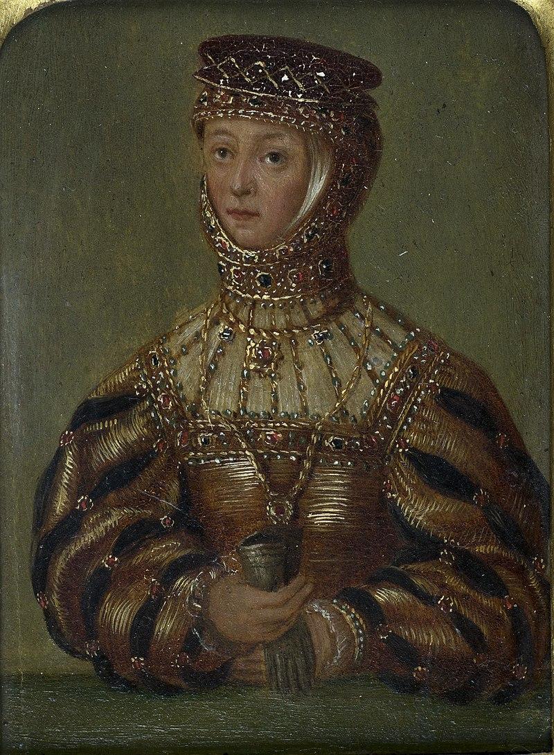 Barbara Radzivił. Барбара Радзівіл (M. Krajewski, 1545, 1866-70).jpg