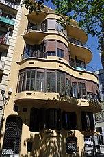 Barcelona (332 Diagonal Avenue). Planells House (Casa Planells). 1923-1924. Josep Maria Jujol, architect (26443240434).jpg