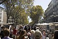 Barcelona - La Rambla - View SSE on 'Pilar' 12 October.jpg