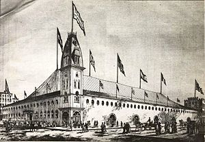 Madison Square Garden (1879) - P. T. Barnum's Roman Hippodrome, a predecessor to Madison Square Garden