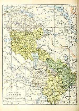 Lough MacNean - Image: Baronies of Leitrim