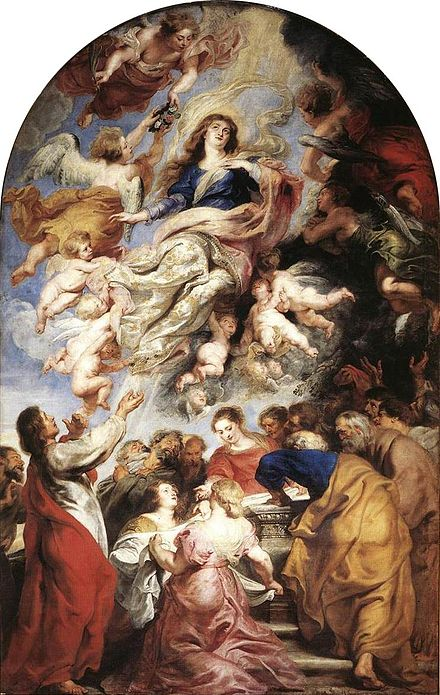 The Assumption of Mary, Rubens, circa 1626 Baroque Rubens Assumption-of-Virgin-3.jpg