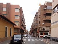 Barrio Ciudad de Asís, Calle Proción, Alicante. 26-03-2013.JPG
