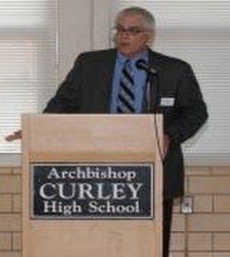 Archbishop Curley High School - Barry Brownlee, Curley's first lay Principal.