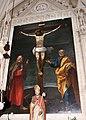 Bartolomeo Cesi, Crocifissione tra i santi Pietro e Matteo, 02.JPG