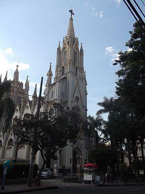 Basilica of Our Lady of Lourdes, Belo Horizonte - Image: Basílica de Nossa Senhora de Lourdes, Belo Horizonte, Brasil 068