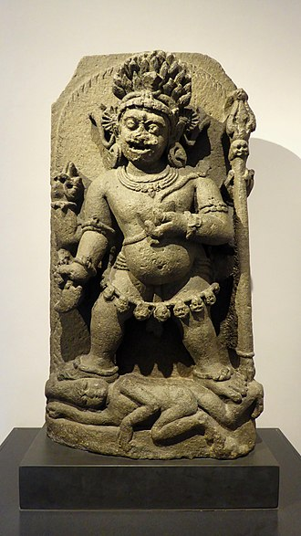 Mahakala - Two-armed Mahakala, Eastern India, circa 1100.