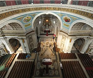 Oudenbosch Basilica - Interior of the Basilica