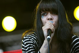 Bat for Lashes op het Primavera Sound Festival 2009