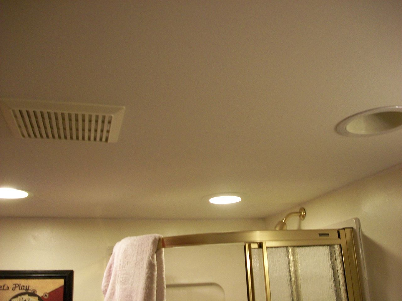 Dining Room Ceilings File Bathroom Ceiling With Vent Jpg Wikimedia Commons