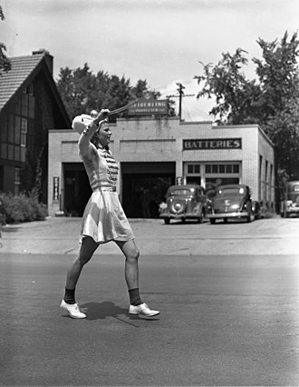 Bobby soxer (music) - A bobby soxer in Ann Arbor, Michigan, July 8, 1939