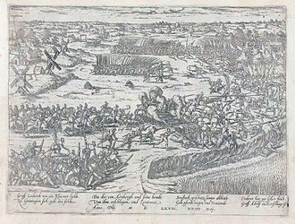 Military history of the Netherlands - Battle of Heiligerlee